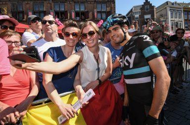 LANDA Mikel (ESP) TEAM SKY (GBR) Giro d'Italia 2016. ANSA/ALESSANDRO DI MEO
