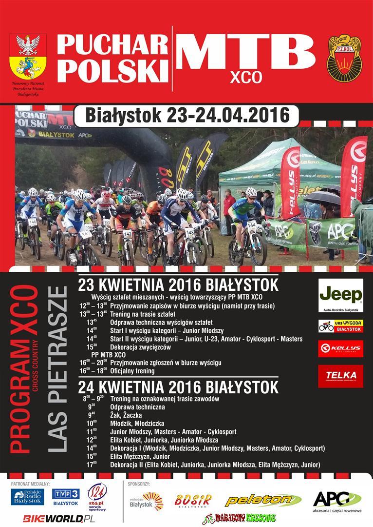 Bialystok - Plakat MTB - 2016