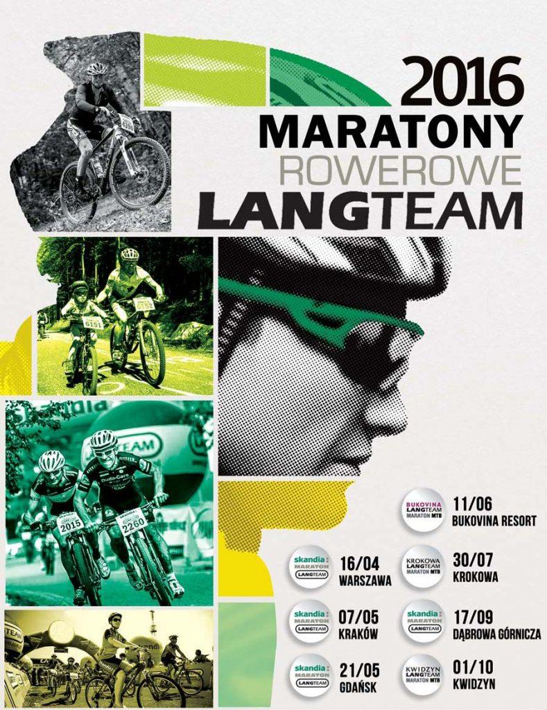 Maratony Rowerowe Lang Team_layout edycje 2016