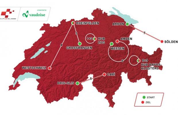 Trasa Tour de Suisse 2016